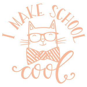 i make school cool cat