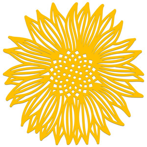 sunshine sunflower papercut