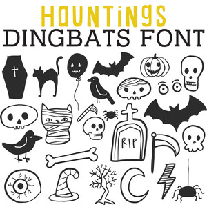 cg hauntings dingbats