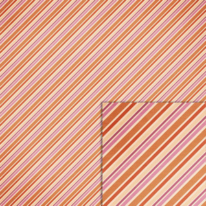 orange and pink stripe background paper