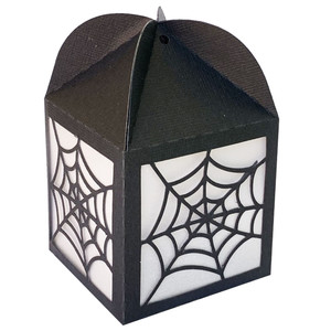 spider web luminary box