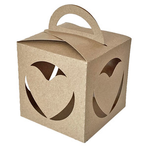fold over box with solid heart