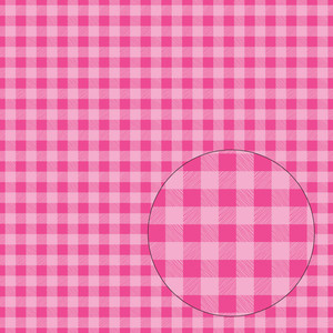 hot pink buffalo plaid seamless pattern