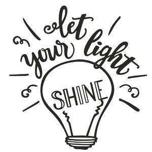 let your light shine phrase