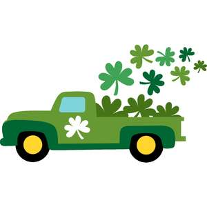 shamrocks truck st patricks day