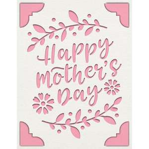 a2 insert card mothers day
