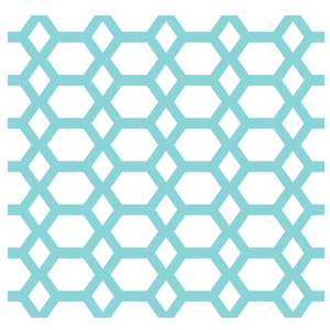 geometric hexagon repeat