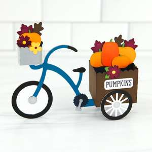 box card pumpkin tricycle