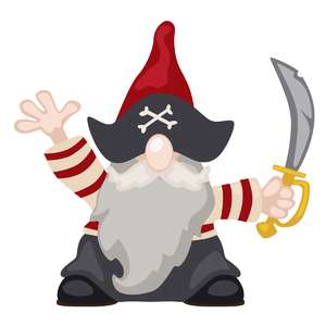 fall gnome pirate