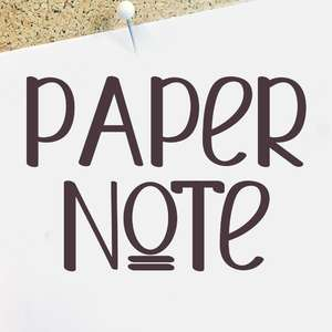 paper note