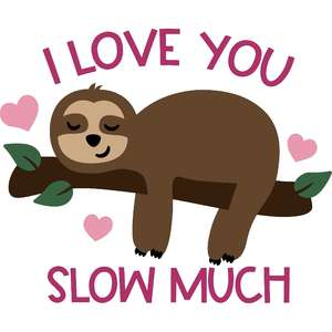 i love you slow much