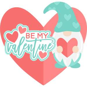 be my valentine gnome