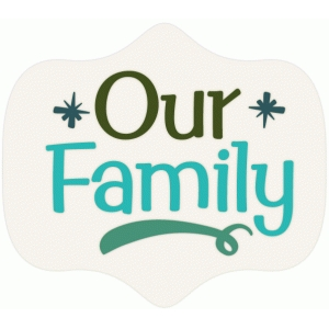 our family badge