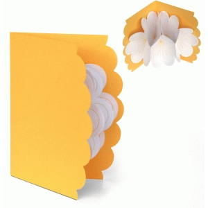 3d lori whitlock pop up flower card