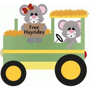 free hayrides mouse tractor farm