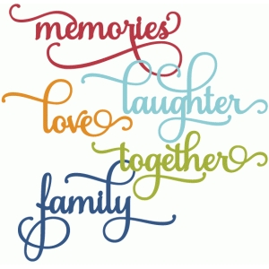 perfect flourish words - family