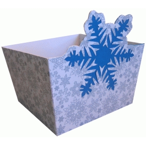 snowflake big candy box