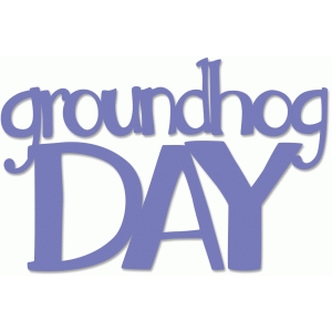 groundhog day title