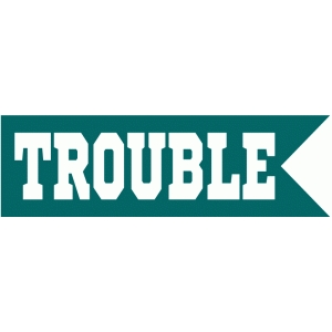 trouble flag