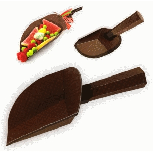 3d candy scoop