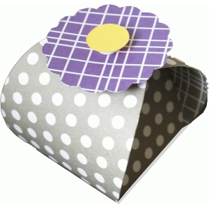 flower pillow box