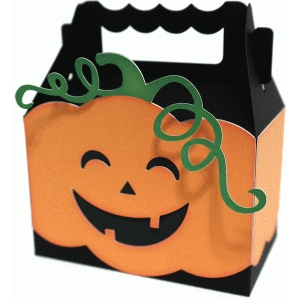 cute pumpkin box