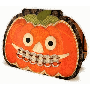 pumpkin pull-tab teeth a7 card