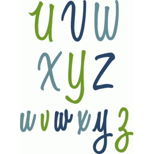 simple script alpha - u-z