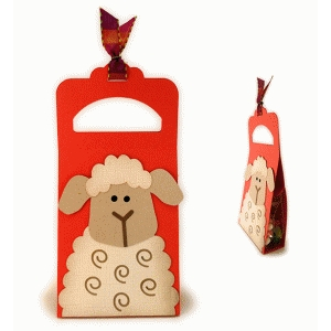 lamby treat tote staple tab