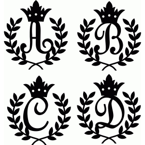 kingdom monogram a-d