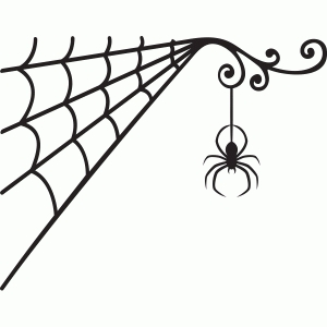 spiderweb silhouette dog and cat clip art free dog and cat clip art images