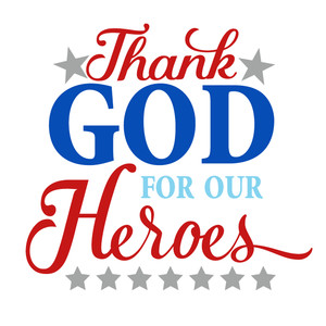 thank god for heroes