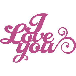 'i love you' phrase