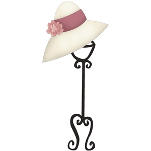 hat on a hat stand