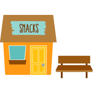 snack shack - at the zoo