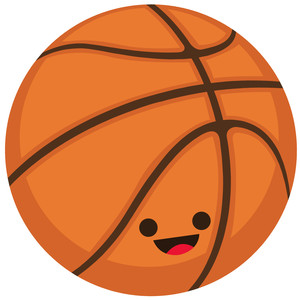 cute basketball