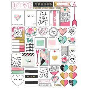 hello love planner stickers