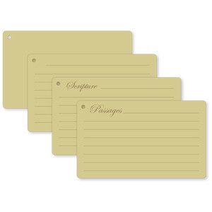 cards index flip cards scripture passages