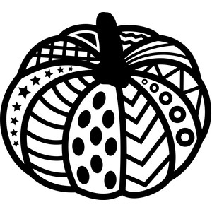 tribal pumpkin