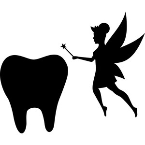 tooth fairy silhouette