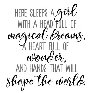 girl magical dreams wonder