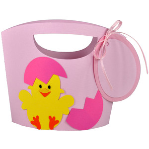 easter chick tote