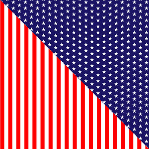 stars and stripes pattern