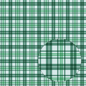 blue & green plaid seamless pattern