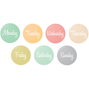 days of the week flair badges