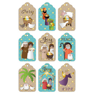 nativity tags