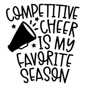 competitive cheer is my favorite season