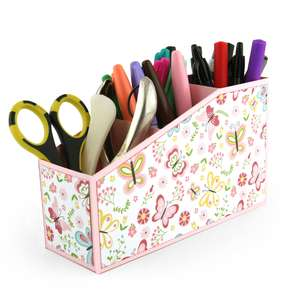 3 compartment desk organizer