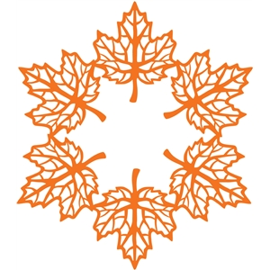 maple leaf doily