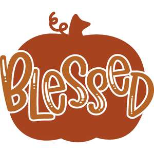 blessed pumpkin
